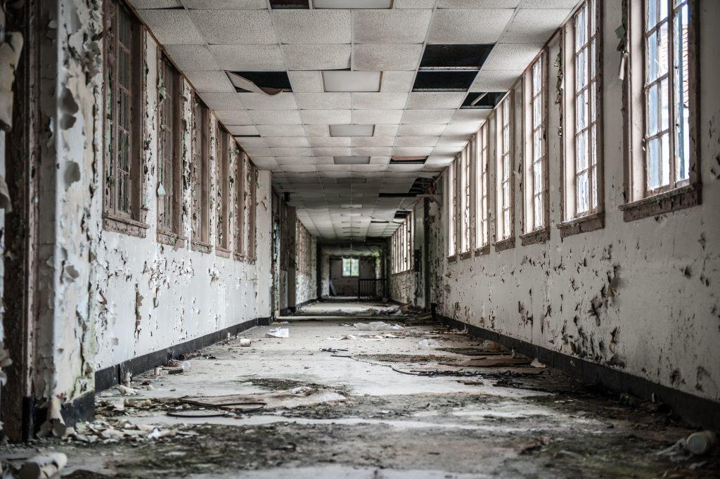 Charleston SC, VA Hospital, Urban Exploring, Urbex, Abandoned, justin Driscoll