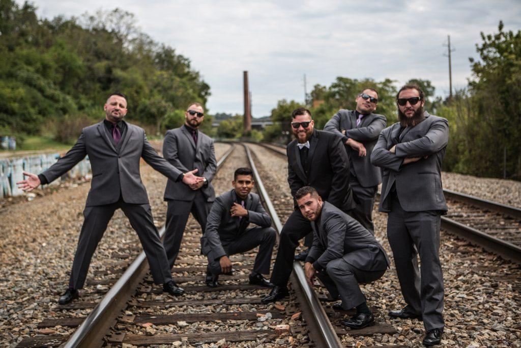 The boys - Asheville - Asheville NC - Wedding Photography - Wedding Photos - Justin Driscoll