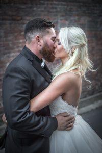 Kiss - Asheville - Asheville NC - Wedding Photography - Wedding Photos - Justin Driscoll